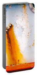 Portable Battery Charger featuring the photograph Abstract Boat Detail by Silvia Ganora