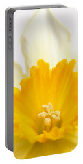 Abstract Daffodil Portable Battery Charger