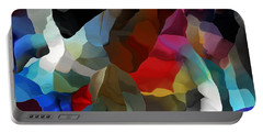 Portable Battery Charger featuring the digital art Abstract Distraction by David Lane