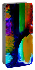 Abstract Du Colour Portable Battery Charger by Lisa Kaiser