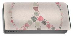 Peace Symbol Design - S77bt01 Portable Battery Charger