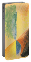 Abstract Forms Xiv Portable Battery Charger