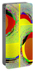 Portable Battery Charger featuring the digital art Abstract Fusion 199 by Will Borden