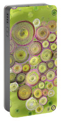 Abstract Grapes Portable Battery Charger