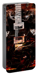 Abstract Guitar Into Metal Portable Battery Charger