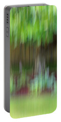 Abstract In Green Portable Battery Charger