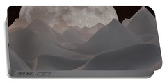 Abstract Landscape #3 Portable Battery Charger by Wally Hampton