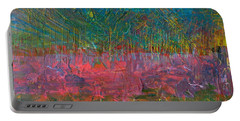 Abstract Landscape Series - Wildflowers Portable Battery Charger