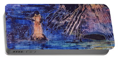 Abstract Lighthouse Portable Battery Charger