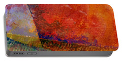Abstract No. 1 Portable Battery Charger by Michelle Calkins