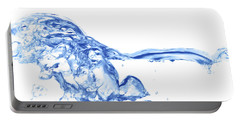 Abstract Soar Water  Portable Battery Charger