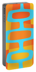 Abstract With Turquoise Pods 3 Portable Battery Charger