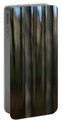 Abstract Woods Portable Battery Charger