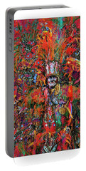 Abstracted Mummer Portable Battery Charger