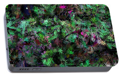 Portable Battery Charger featuring the digital art Abstraction 121514 by David Lane
