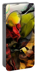 Abstraction 122614 Portable Battery Charger by David Lane