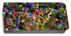 Abstraction 2 0211315 Portable Battery Charger by David Lane
