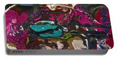 Abstracts 14 - Seascapes Portable Battery Charger by Mario Perron