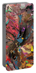 Portable Battery Charger featuring the digital art Abyss 2 by David Lane