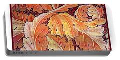 Acanthus Vine Design Portable Battery Charger