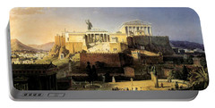 Acropolis Of Athens Portable Battery Charger