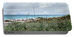 Across The Dunes At Hobe Sound Portable Battery Charger