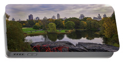 Across The Pond 2 - Central Park - Nyc Portable Battery Charger