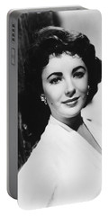 Actress Elizabeth Taylor Portable Battery Charger