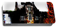 Portable Battery Charger featuring the photograph Adare Manor by Charlie and Norma Brock