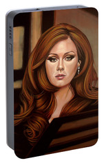 Adele Portable Battery Charger by Paul Meijering