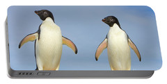 Adelie Penguin Duo Portable Battery Charger