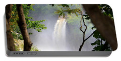 Adirondacks Waterfall Portable Battery Charger by Patti Whitten