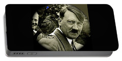 Adolf Hitler And A Feathered Friend C.1941-2008 Portable Battery Charger