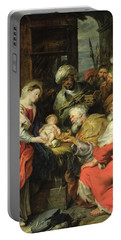 Adoration Of The Magi, 1626-29 Oil Canvas Portable Battery Charger