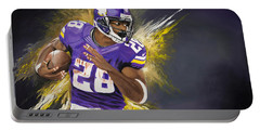 Adrian Peterson Portable Battery Charger