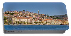 Adriatic Town Of Mali Losinj View From Sea Portable Battery Charger