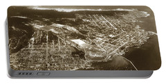 Aerial  Of Monterey Calif. Oct. 25 1934 Portable Battery Charger