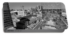 Aerial Photography Downtown Nashville Portable Battery Charger by Dan Sproul