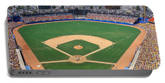Aerial View Of A Stadium, Dodger Portable Battery Charger