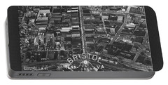 Aerial View Of Bristol Tn Va Portable Battery Charger