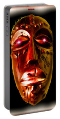 Portable Battery Charger featuring the digital art Africa by Daniel Janda