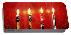 African Candles Portable Battery Charger