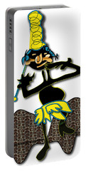 Portable Battery Charger featuring the digital art Tribal Medicine Doctor  by Marvin Blaine