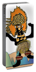 African Dancer 6 Portable Battery Charger by Marvin Blaine
