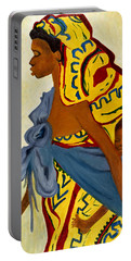 African Mother And Child Portable Battery Charger