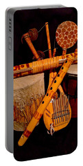 African Musical Instruments Portable Battery Charger