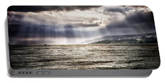 After The Storm Sea Of Galilee Israel Portable Battery Charger