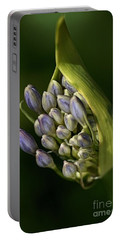 Portable Battery Charger featuring the photograph Agapanthus by Joy Watson