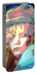 Age Of Aquarius Portable Battery Charger by Jacqueline McReynolds