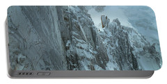 Aiguille Du Midi Mount Blanc Portable Battery Charger by Frank Wilson